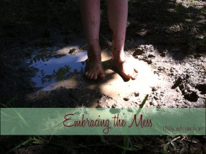 Embracing the Mess - blog pic