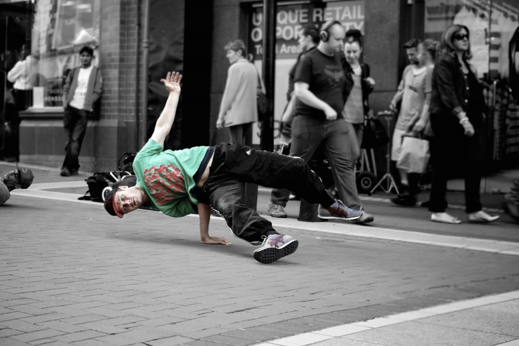 creative - street dancer